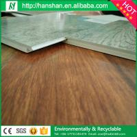 Quality Click lock plastic pvc flooring wood look vinyl plank for sale