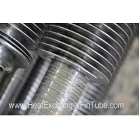 Quality Continuous helical welded heat exchanger fin fube SA213-TP304H NPS 2'' X SCH80S for sale