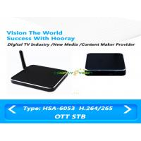 Wholesale MPEG 4 Quard Core OTT Set Top Box 1080P Output Resolution With Amlogic S805 Chipset from china suppliers