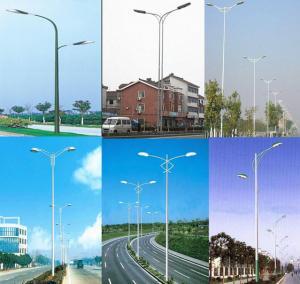 Quality steel tubular lighting pole/light poles outdoors/lamps pole for sale