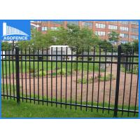 Wholesale Hot Dipped Welded Steel Panel Fence For Supermarket / School Security from china suppliers