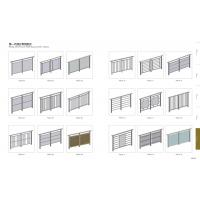 Wholesale Aluminum Anodized Handrail Balustrade Glass from china suppliers