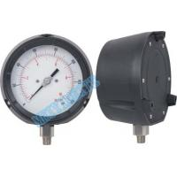 Wholesale 115mm Solid Front Pressure Gauge stainless steel / accurate pressure gauge from china suppliers