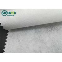 China 50gsm Crisp 100% Recycle cotton garment embroidery backing paper for jacket and badge embroidery on sale