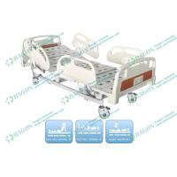 Wholesale Three Functions electric medical bed Silent Castor With Brakes , Hospital Care Furniture from china suppliers