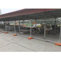 Wholesale Temporary Fencing panels suppliers Canberra ACT area 2100mm x 3300mm temp site construction panels as4687-2007 standard from china suppliers