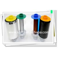 Wholesale YMCK color ribbon 084051 for HDP5000 id printer from china suppliers