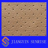 Wholesale Plain Weave Full Grain Polyurethane Fake Car Seat Leather Abrasion - Resistant from china suppliers