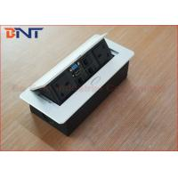 Wholesale Hydraulic Oval Pop Up Desk Pop Up Sockets With UK Standard Power Outlet from china suppliers
