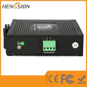 Quality 5 Megabit TX Port / 1 Gigabit SFP FX 5 Port Industrial Ethernet Network Switch / 5 Port Poe Switch for sale