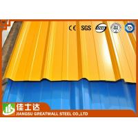 Wholesale Galvanized Zinc Coating Corrugated Color Steel Roof Tile Ral Standard Color Prepainted from china suppliers