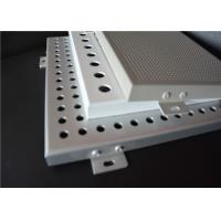 Wholesale Punched Perforated Aluminum Panels Perforated Sheet Metal Panels With Customized from china suppliers