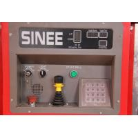 Wholesale SINEE 55 kw Inverter Building Material Hoist with 400kg Lifting Device on Cage Top from china suppliers