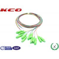 Wholesale SC/APC Fiber Optic Pigtail Single Mode 9/125 0.9mm 1.0m LSZH from china suppliers