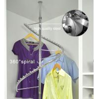 Wholesale 360° Rotating Foldaway Coat Hanger Stand Stainless Steel For Hanging Clothes from china suppliers