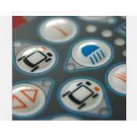 Wholesale Waterproof Prototype Single Membrane Switch Keypad With 3M467 / 3M468 Adhesive from china suppliers