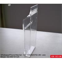 Wholesale Custom Clear Wall Mount Acrylic Mailbox Suggestion Box With Lid from china suppliers