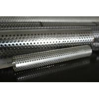 Wholesale 0.3 - 3mm Thick 304 Welded Stainless Steel Pipes punched For Filtration from china suppliers