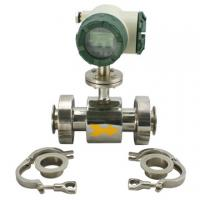 Wholesale Industrial Electromagnetic Sanitary Flow Meter For Disposal Water from china suppliers