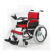Wholesale Large Wheel Mobility Power Chairs , Collapsible Electric Wheelchair With Hand Drim from china suppliers