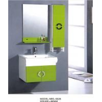 Wholesale hanging cabinet / PVC bathroom cabinet / wall cabinet  / white color for sanitary ware 60X48/cm from china suppliers