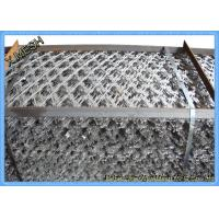 China Welded Galvanized Concertina Razor Barbed Wire Fencing With Loops on sale