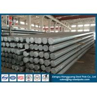 Wholesale 450daN Bangladesh Steel Utility Electrical Power Pole GR65 from china suppliers