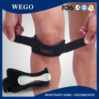 Wholesale WG-KB015 Knee Strap Patella Tendon Brace Adjustable Neoprene Knee Pain Relief Patella Strap Band Support from china suppliers