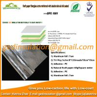Wholesale Kraft paper fiberglass scrim reinforced with double side alu foil coated insulation from china suppliers