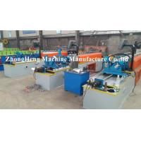 Wholesale C Section Stud Cold Roll Forming Equipment / Former Machine With Punching Device from china suppliers