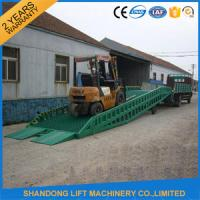 Wholesale Adjustable Hydraulic Portable Loading Ramps for Trucks ,  Storage Container Ramps  from china suppliers