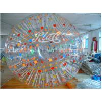 Wholesale Color Dots Commercial Giant Inflatable Hamster Ball Customized For Kids from china suppliers