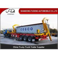 Wholesale 3 Axle 40 Feet 20 Feet Side Loader Trailer For Loading 20&40ft Containers from china suppliers