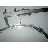 Wholesale CBT65 Concertina Razor Barbed Wire With 500mm Diamete Galvanized Steel Plate from china suppliers