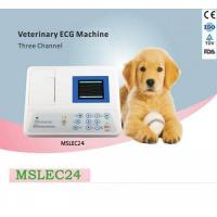 Wholesale Portable 3 lead veterinary ecg machine for sale-MSLEC24 from china suppliers