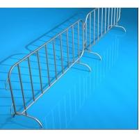 Buy cheap 2100mm X 1100mm Road Barrier Steel Fence Systems With Bridge / U / Flat Base from wholesalers