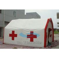 Wholesale Movable Inflatable Rescue Tent Emergency Shelter Medical Air Inflated Tents from china suppliers