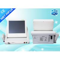 Wholesale Vertical 8mm 13mm Smas Ultrasound Hifu Face Lift High Intensity Focused Ultrasound Machine / 5 Heads from china suppliers