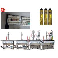 Wholesale Semi Automatic PU Foam Aerosol Filling Machine from china suppliers