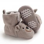 Lovely Cute animal Cotton fabric winter warm socks booties baby cartoon shoes