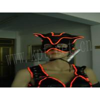 Wholesale neon clothes with brightness el wire,neon lighting costume from china suppliers