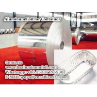 China Aluminum Foil for Container for sale