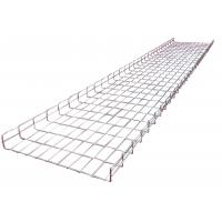 Wholesale 600*50mm flexible electrical wave welding wire basket mesh trays system for industrial from china suppliers