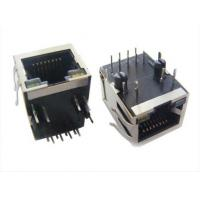 Buy cheap 90 Degree Magnetic RJ45 Jack , 10 / 100M RJ45 8P8C Female Connector Side from wholesalers
