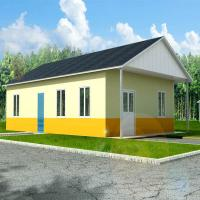 Wholesale Corrosion Resistance Two Bedroom Modular Homes Prefab Wooden House South Africa from china suppliers