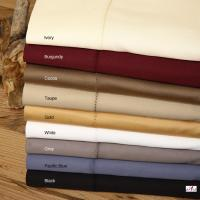 Wholesale Home Purplish Red / Yellow / Brown Dyed Full Size Queen Microfiber Bed Sheet Sets from china suppliers