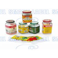 Wholesale CMYK Plastic Stretch Film , Shrink Wrap Bands for Bottles 45 Micron / 6 Colors from china suppliers