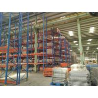 Wholesale Blue Red Industrial Warehouse Shelving Systems Conventional Standard Q235 from china suppliers