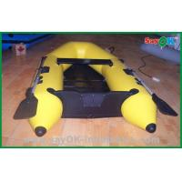 Wholesale Heat Sealed Yellow PVC Inflatable Boats Lightweight Inflatable Boat from china suppliers