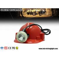 Wholesale LED waterproof mining cap lights with Li-ion battery , GL5LM-B 10000lux / 6.6Ah from china suppliers